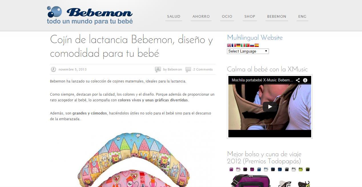 La Máquina de Contenidos - Blog Bebemon