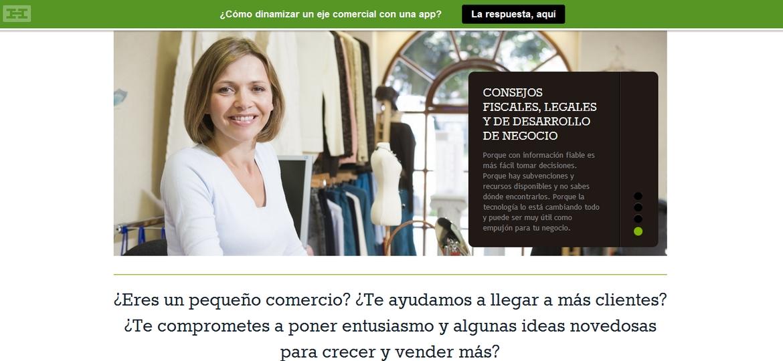 La Máquina de Contenidos - Web Mi Comercio Local